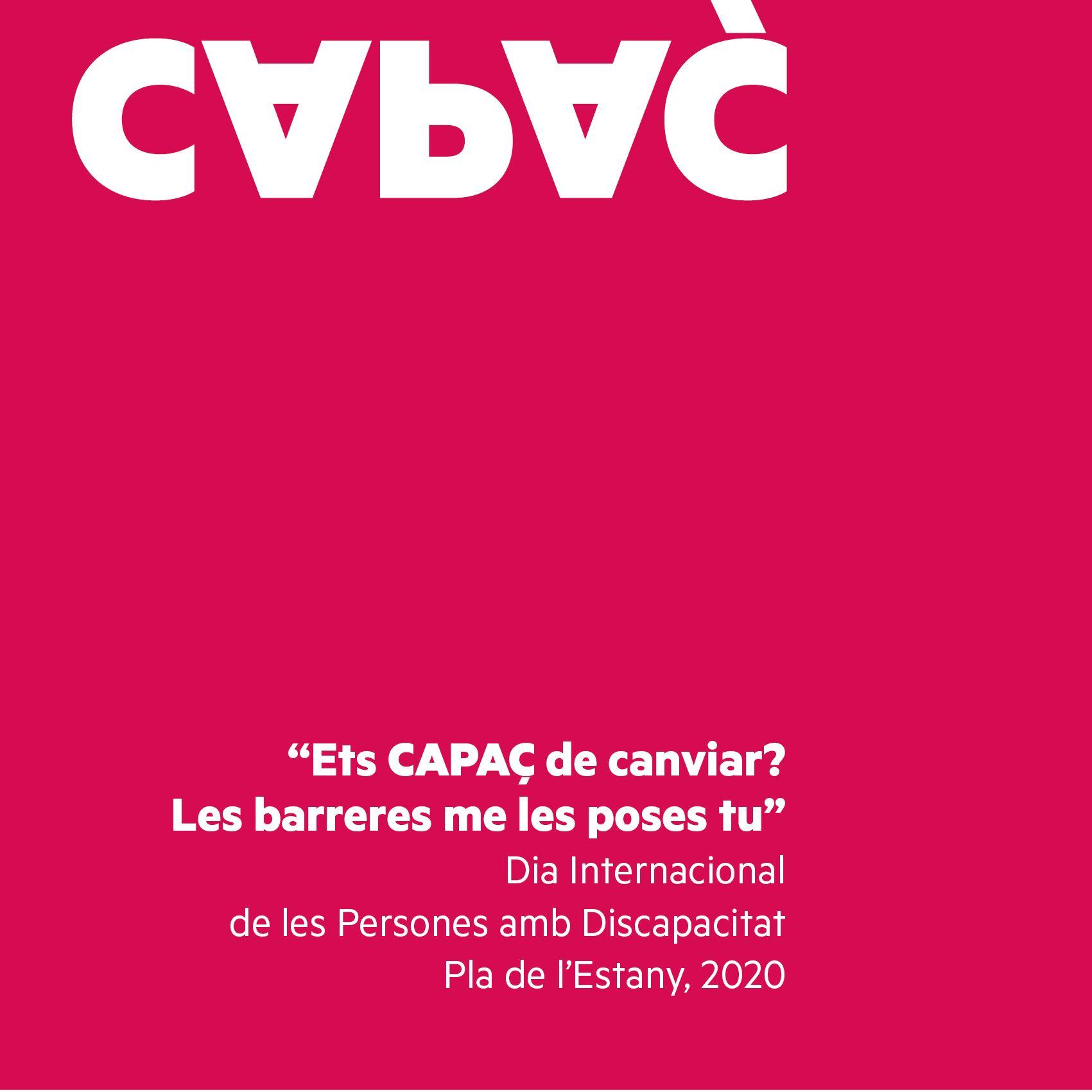 """""""Ets CAPAÇ De Canviar? Les Barreres Me Les Poses Tu"""""""