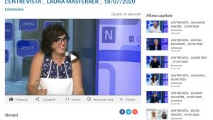L'ENTREVISTA:  LAURA MASFERRER  – TV Girona