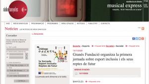 Granés Fundació Organitza La Primera Jornada Sobre Esport Inclusiu I Els Seus Reptes De Futur – Ràdio Banyoles