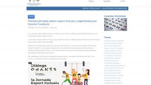 Primera Jornada Sobre Esport Inclusiu, Organitzada Per Granés Fundació – Educacio.banyoles.cat