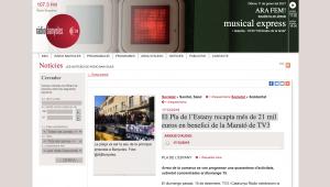 El Pla De L'Estany Recapta Més De 21 Mil Euros En Benefici De La Marató De TV3 – Ràdio Banyoles
