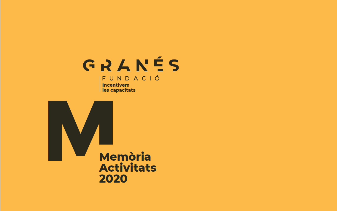 Memoria Activitats 2020 De Granés Fundació
