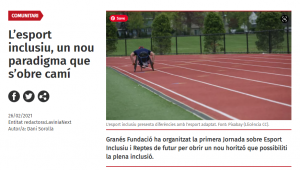 El Deporte Inclusivo, Un Nuevo Paradigma Que Se Abre Camino – Xarxanet
