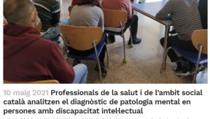 Professionals De La Salut I De L'ambit Social Català Analitzen El Diagnòstic De Patologia Mental En Persones Amb Discapacitat Intel·lectual – Sies.tv