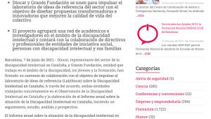 Nace LabDincat, El Espacio De Investigación Y Conocimiento Del Sector De La Discapacidad Intelectual En Cataluña – Serveistic.net