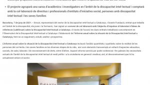 Neix LabDincat, L'espai De Recerca I Coneixement Del Sector De La Discapacitat Intel·lectual A Catalunya – Femarec
