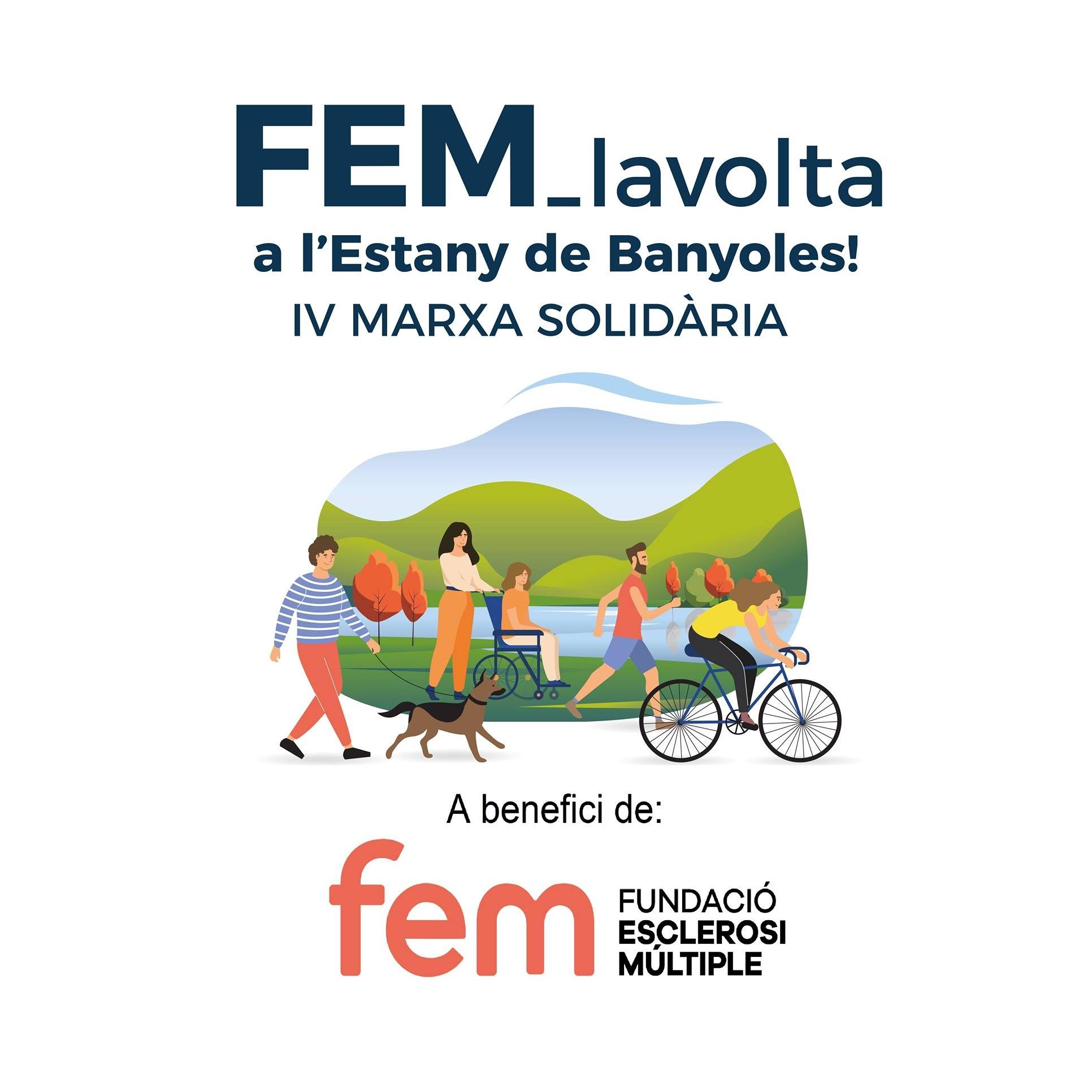 Granés Fundació Ha Col·laborat Un Any Més A La 4a Edició De FEM La Volta A L'estany De Banyoles